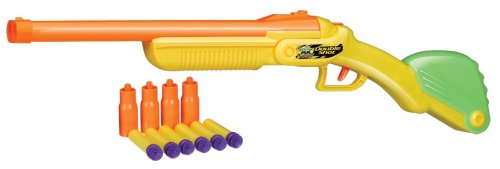 Double Nerf Shot Rifle with 6 Darts & 4 Shells