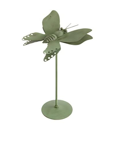 Napa Home and Garden Garden District Audubon Butterfly, Green