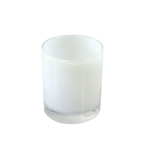 Axentia -Badserie Priamos Zahnputzbecher Acryl, weiß