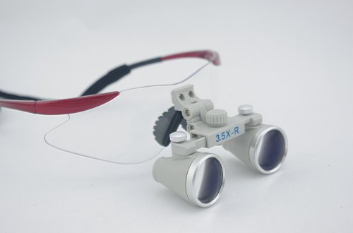 Spark Dentist Medical Binocular Loupes 3.5 X 360-420Mm Magnifier Ch350