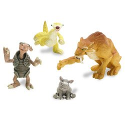 Buy Low Price Mattel ICE AGE 2 THE MELTDOWN DIEGO & PALS FIGURES (B000B652YM)