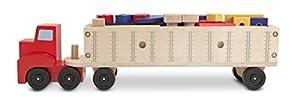 Melissa & Doug - Juego de construcción de camión grande (12758) - BebeHogar.com