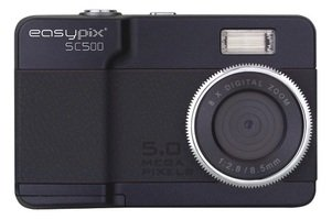 easypix SC500 Black ブラック ドイツのおしゃれな カメラブランド イージーピックス