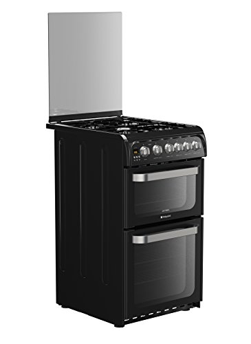 Hotpoint Ultima HUG52K Freestanding Cooker - Black