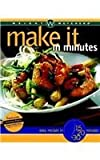 img - for Make It in Minutes book / textbook / text book