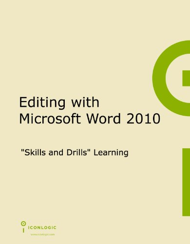 Editing With Microsoft Word 2010