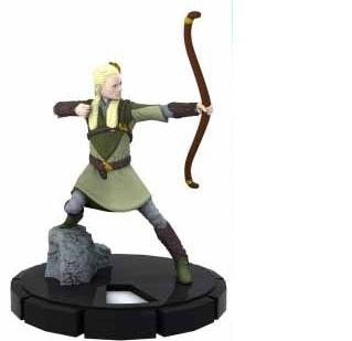 HeroClix: Legolas # 4 (Common) - Lord of the Rings - 1