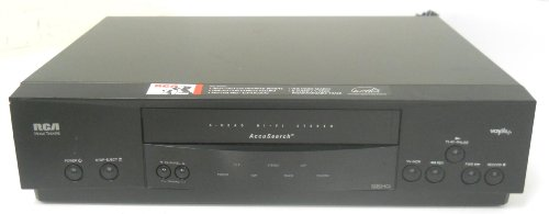 RCA VR622HF VCR VHS Video cassette recorder player Cassette Tape 4 Head HiFi Stereo Accusearch Energy Star