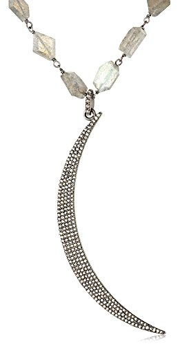Azaara-Crescent-Moon-Champagne-Diamond-Labradorite-Chain-Pendant-Necklace-1-34cttw-I2-I3-Clarity