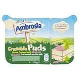 Ambrosia Crumble Puds Rhubarb & Custard 125G