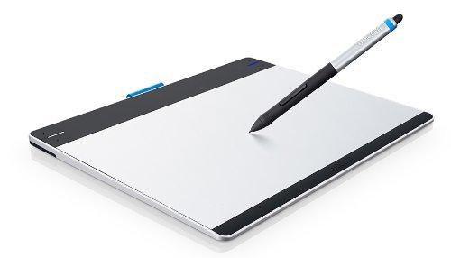 Wacom CTH-480S-DEIT Intuos Stift-Tablett (Multi-Touch, 1024 Druckstufen, Express-Keys, ) Gr��e S inkl. Stift (mit Radierer) /