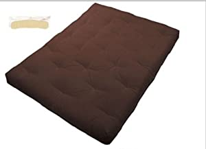Amazon Futon Mattress Queen size Cotton Filled 8