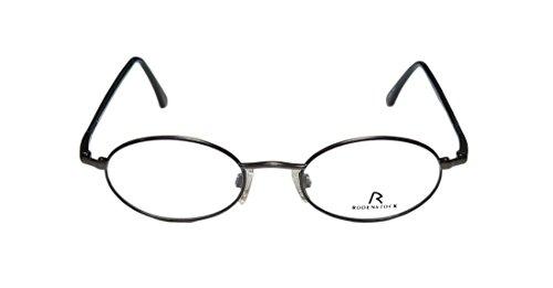 Rodenstock R4208 Mens/Womens Rxable Popular Style Designer Full-rim Flexible Hinges Eyeglasses/Glasses (46-19-140, Gray / Blue / Brown)