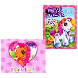 My Little Pony Invitations and Thank You Notes (8ct ea.) - 1