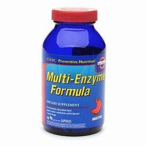 GNC Nutrition préventive Multi-Enzyme Formula,