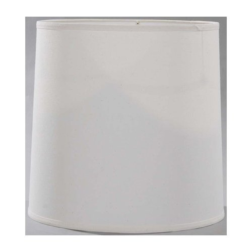Lite Source Ch1186-15 15-Inch Lamp Shade, Off-White front-1027513