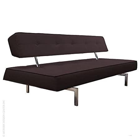 Premium Sofa Bed K18 in Black Leatherette