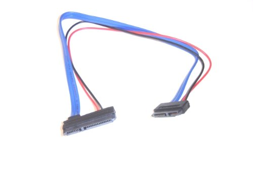Micro SATA Cables - Slimline 13 pin SATA Female to 22 Pin SATA Female Telegram