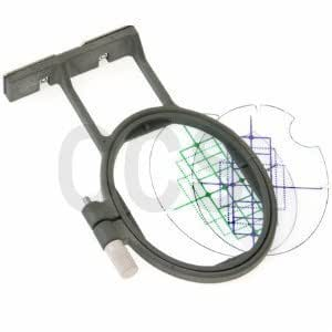Small Hoop for Brother PC 6500 8200 8500 8500D Embroidery Machine