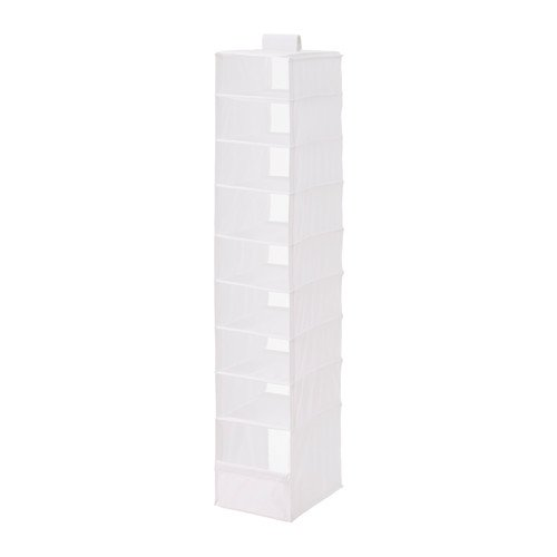 ikea-storage-organizer-hanging-9-compartments-skubb-white