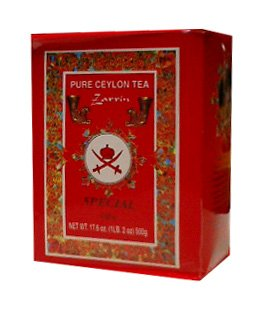 Zarrin Pure Ceylon Tea, Orange Pekoe A, 1Lb (454G)