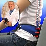 腰痛大国アメリカで100万個!エアーでピッタリ、バイブ機能付き『ドクターウィリアムの極らくエアーベルト(腰用)』