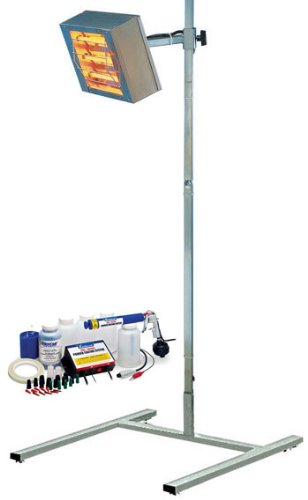 Eastwood Ir Infrared Powder Coating Cure System With Dual Voltage Hotcoat Gun