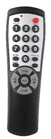 Tv Only Universal Hospitality Remote No Menu Function Includes Re-Programming Instructions