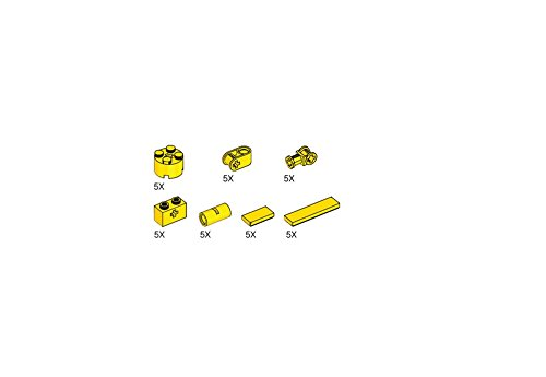 Lego Simple Machines Yellow Assortment Pack X35 5003179 (Lego Simple Machines Set compare prices)