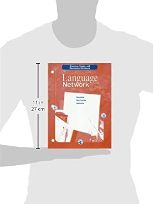 Language Network: Grammar, Usage, and Mechanics Workbook Grade 9