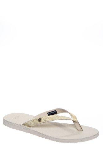UGG Australia W Ally Lizard Flat Thong Sandal