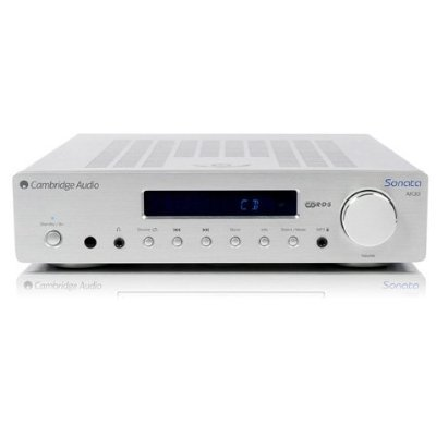 Cambridge Audio Sonata Ar 30 Compact Stereo Receiver With Ipod Dock, Silver