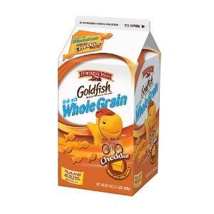 ... .com: Pepperidge Farm Goldfish, Whole Grain Cheddar, 30-ounce carton