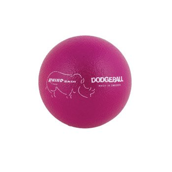 Champion Sports Rhino Skin Dodge Ball (Neon Purple, 6-Inch)