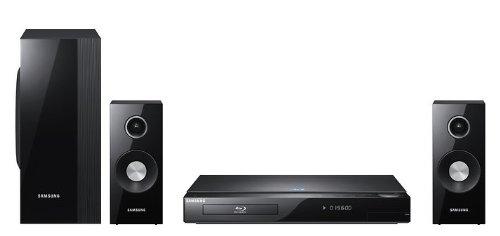 Samsung HT-C5800 2.1 3D Blu-Ray Heimkinosystem (Upscaler 1080p, HDMI, 500 Watt, DivX-zertifiziert, WLAN) schwarz