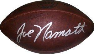 Joe Namath Autographed Ball - Duke Throwback JSA Hologram - Autographed Footballs