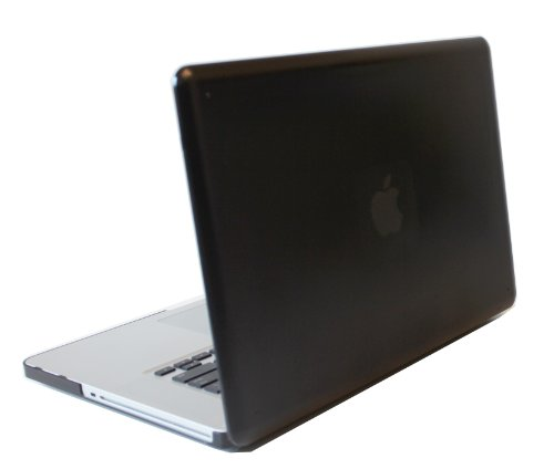 iPearl mCover Hard Shell Case for 15&quot; Model A1286 Aluminum Unibody MacBook Pro (Black keys, 15.4-inch diagonal regular display) - BLACK