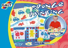 Sponge Painting - Buy Sponge Painting - Purchase Sponge Painting (Galt Toys, Toys & Games,Categories,Arts & Crafts,Paints)
