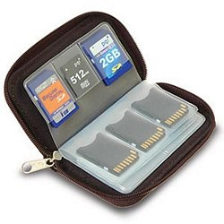 Cheap Memory Card Carrying Case, Black