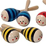 Schylling Toys Wooden Maraca SOLD INDIVIDUALLY