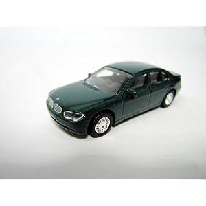 Modellauto 1:87 BMW 7er Reihe grün aus Metall