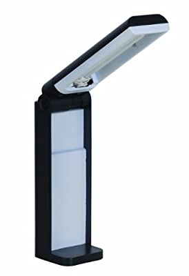 Tensor 16291-006 12-Inch Black Collapsible Full Spectrum Desk Lamp 16291-006