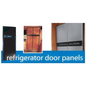 Refrigerator Door Panel, Norcold, Woodgrain