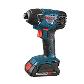 Bare-Tool Bosch 25618B 18-Volt Lithium-Ion Bulk Impact Driver, Tool Only, No Battery