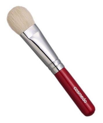 匠の化粧筆コスメ堂 熊野筆メイクブラシ ショートタイプ 山羊毛100%用ブラシ