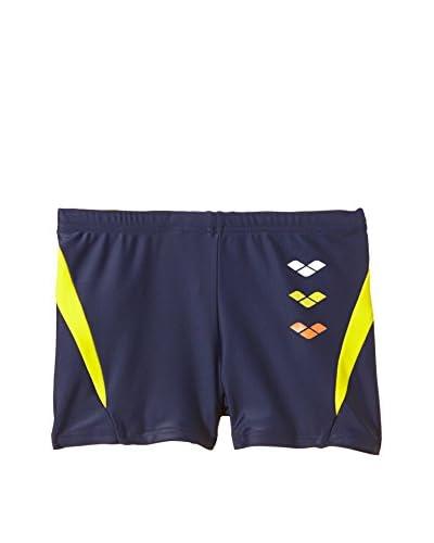 Arena Shorts da Bagno B Astrum Jr [Blu/Giallo]