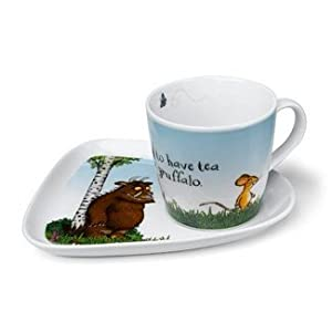 Wild and Wolf Gruffalo Milk and Biscuit Set