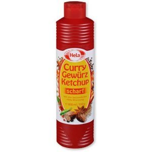 Amazon.com : Hela Curry Gewurz Ketchup Hot 465g (6-pack) : Grocery