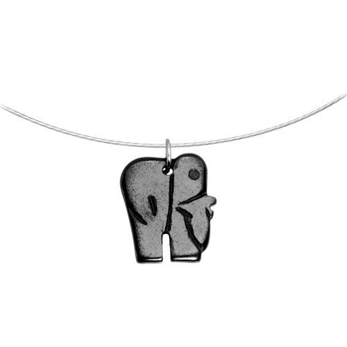 Hemalyke Elephant Choker Necklace