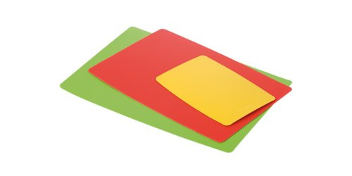 Tescoma 378878 Presto Taglieri Flessibili, Set 3 Pezzi, 39x29, 35x25, 21x15 cm